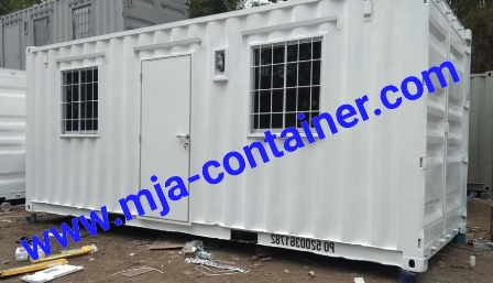 office container pintu tengah lunch room