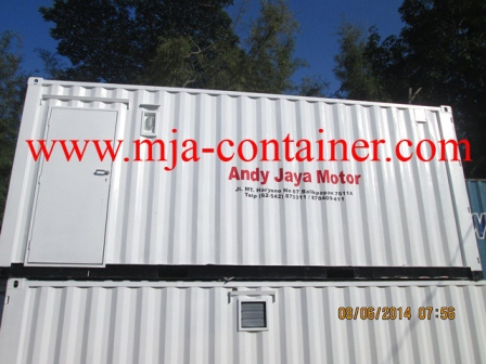 Office Container PT Andi Jaya Motor 1